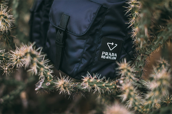Prada Re-Nylon Logosu