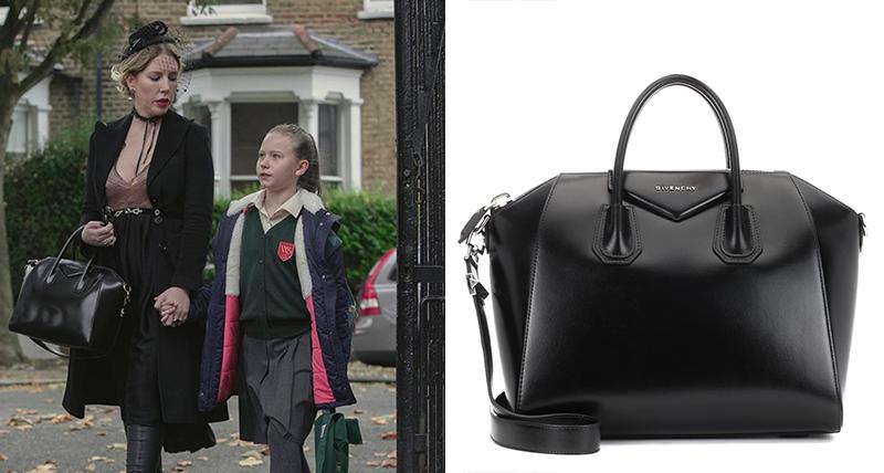 Düşes üzerinde Givenchy Antigona Siyah Çanta